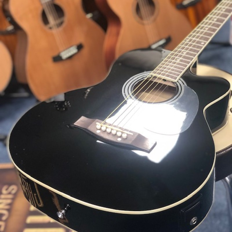 Stagg SA20ACE BLK Folk Electro Acoustic Black