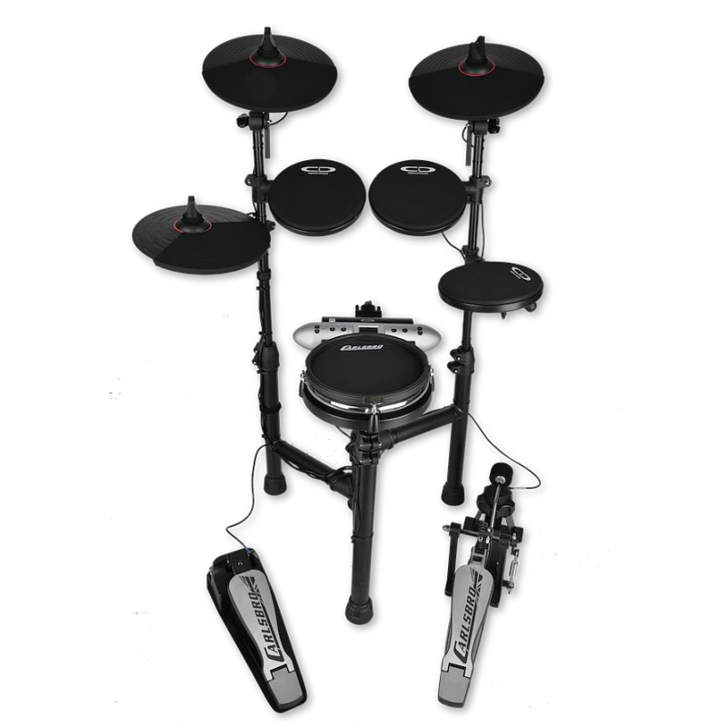 carlsbro csd130m compact electric drum kit w mesh snare soundhousemusic ltd. Black Bedroom Furniture Sets. Home Design Ideas