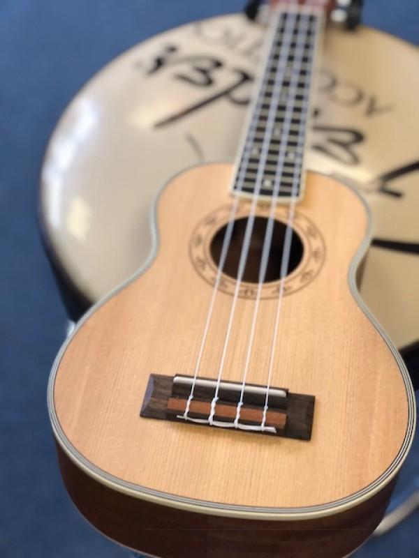 Freshman soprano ukulele spruce