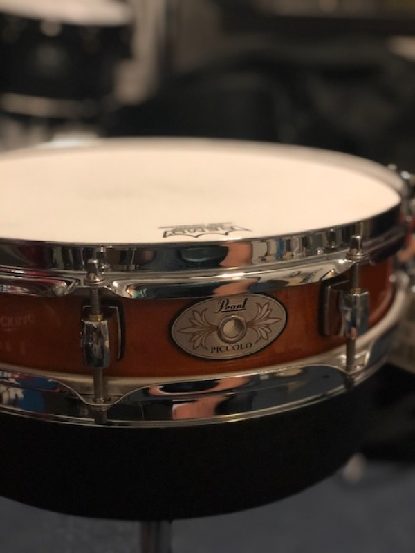 Pearl maple liquid amber snare drum M1330 13