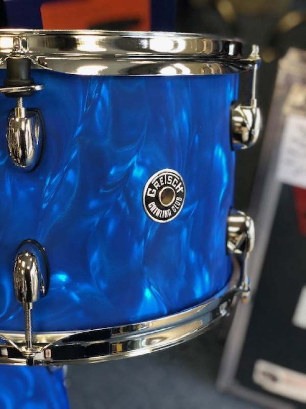Gretsch Catalina Club Drum-kit in Blue Satin Flame