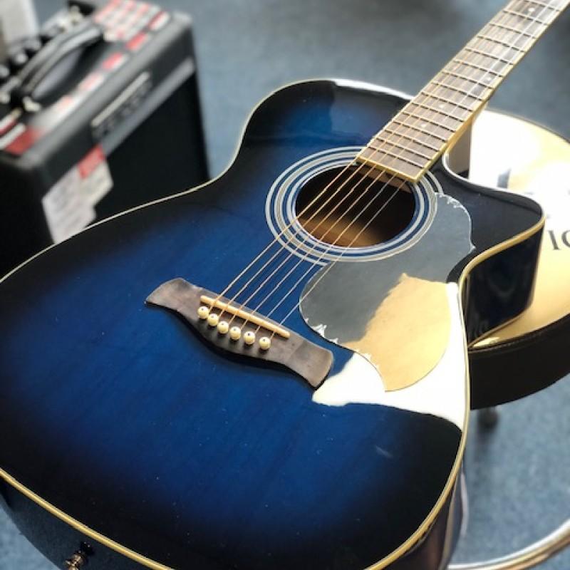Richwood RA-12-CEBS Auditorium Electro Acoustic Blue