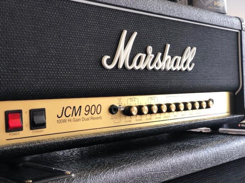 MARSHALL 4100-H HEAD 100W VALVE HEAD+MARSHALL 1960A CAB +MARSHALL 1960B CAB