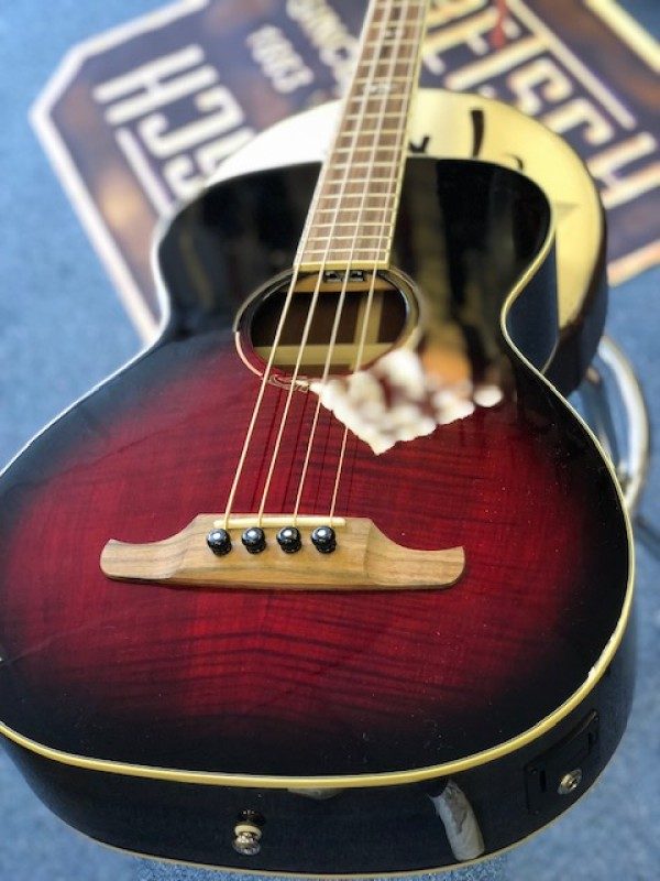 Fender T-Bucket Acoustic Bass flame maple