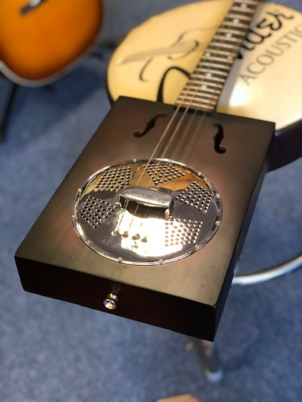Neligan Puncheon Resonator Cigar Box Guitar