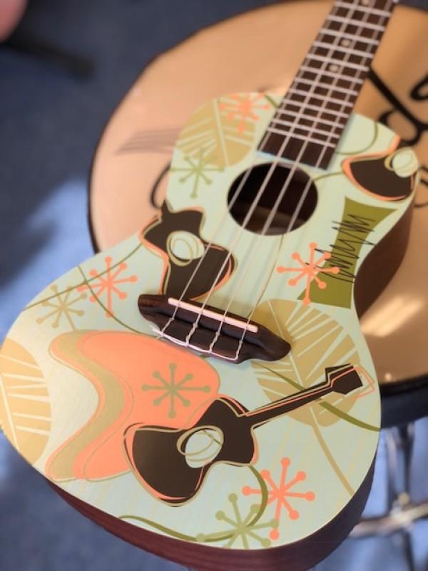 luna concert daddyo ukulele w'bag