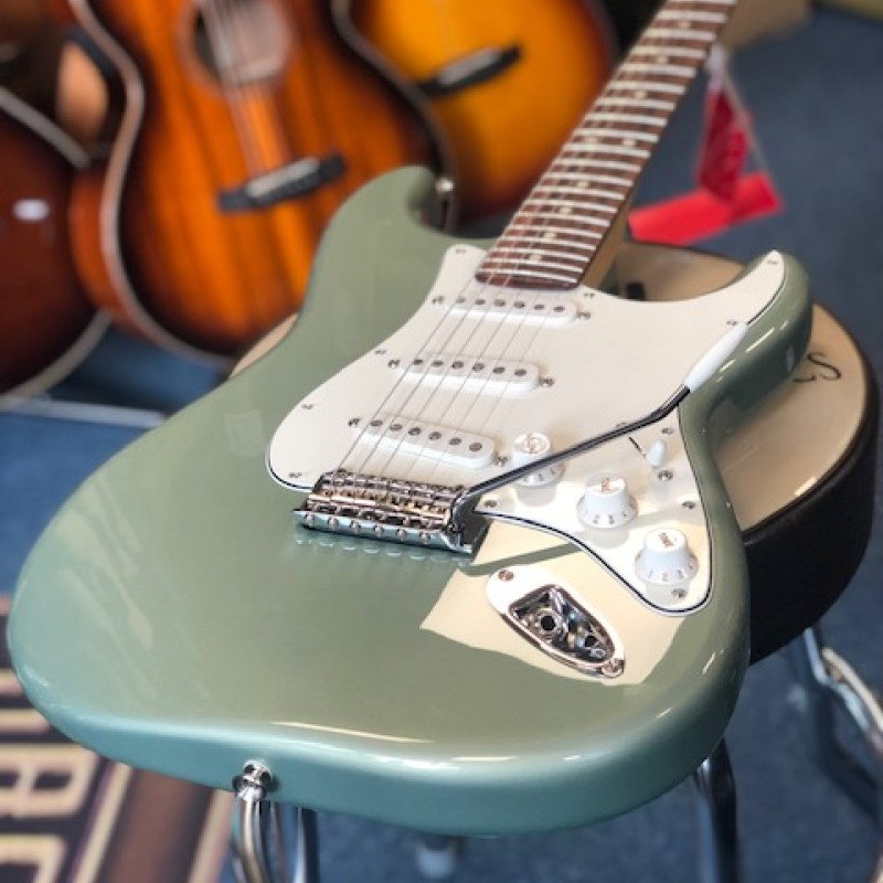Fender Player Strat Sage Green Metallic