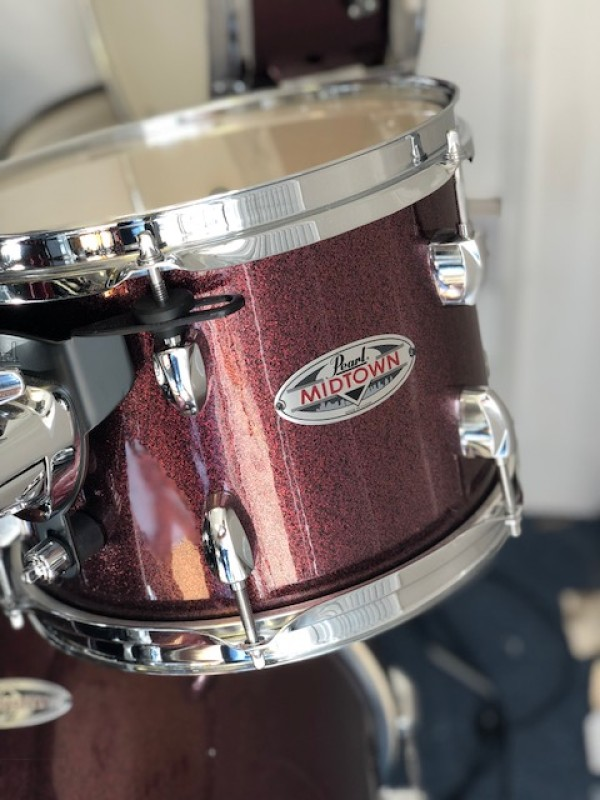 PEARL MIDTOWN JAZZ KIT SHELL PACK BLACK CHERRY