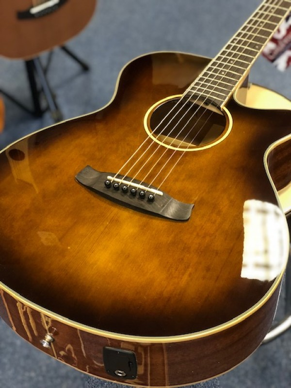 Tanglewood TW4 WB Winterleaf Whisky Barrel Burst