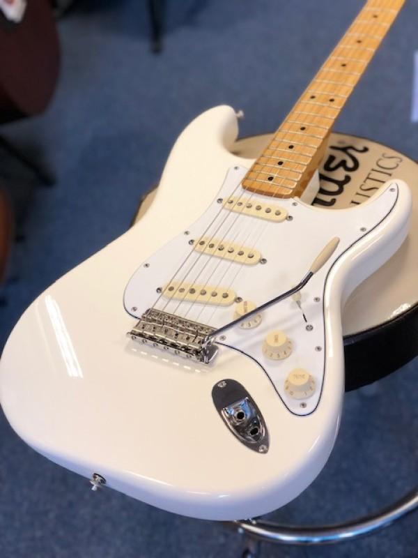 Fender Mex Std Jimi Hendrix Strat White W'bag