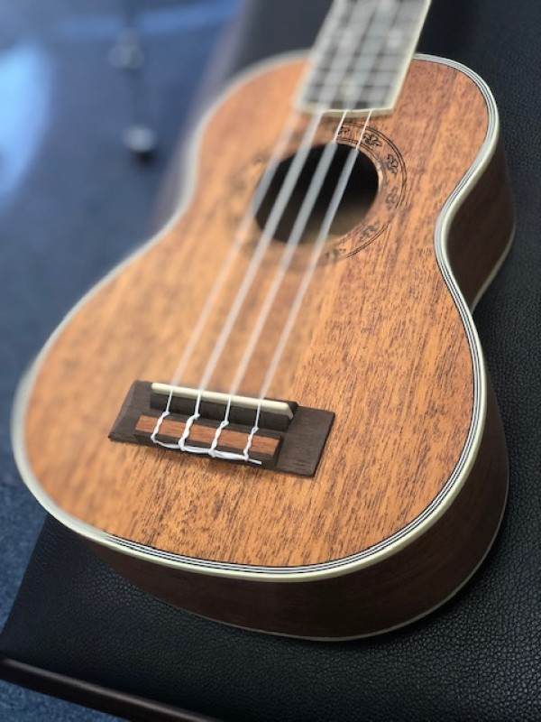 Freshman Soprano Ukulele in all Mahogany