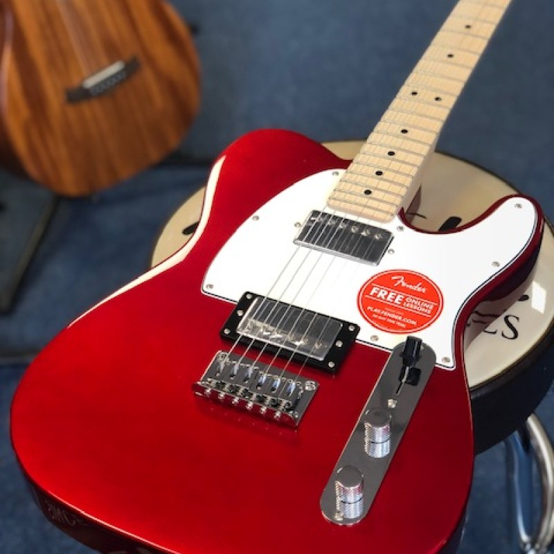 Squier Contemporary HH Tele Dark Metallic Red