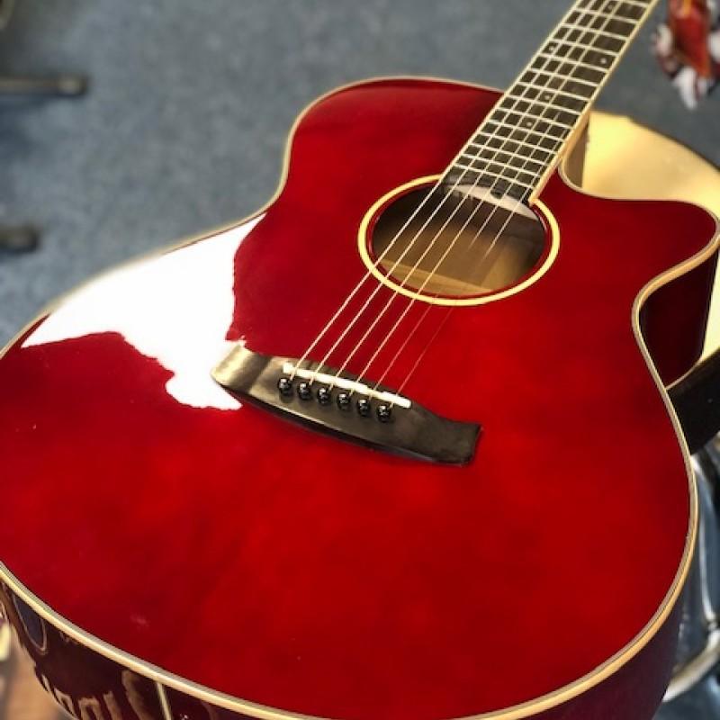Tanglewood TW4R Winterlaeaf Electro Acoustic Red