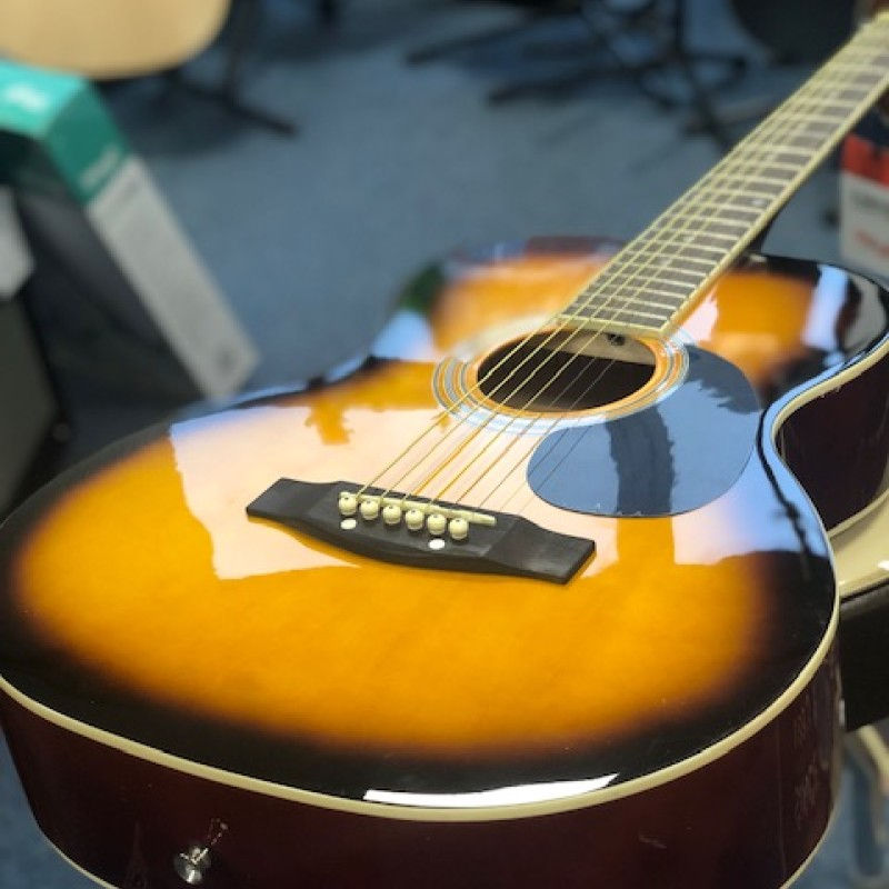 Stagg SA20A SNB Folk Acoustic Sunburst