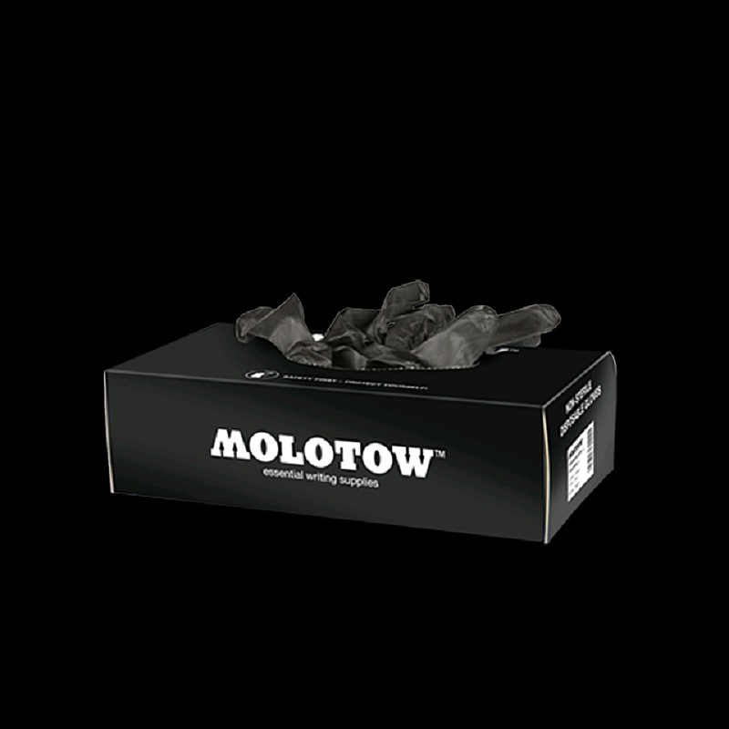 Molotow Nitrile Gloves Large