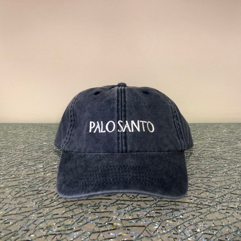 Hat, Palo Santo (washed out blue/white)