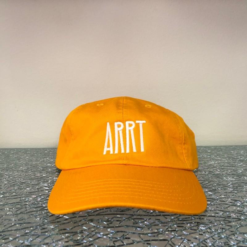 Hat, Arrt (orange/white)