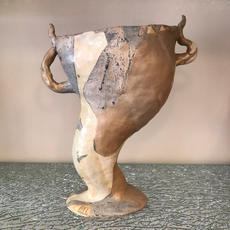 Ceramic sculpture / vase by Anna Harström