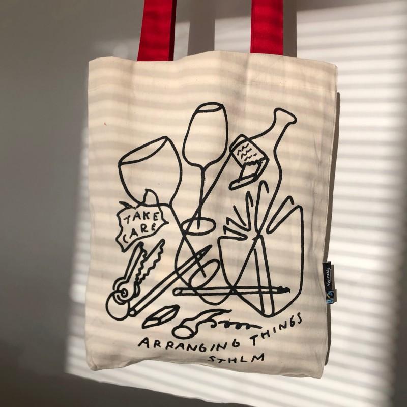 Arranging Things Tote bag