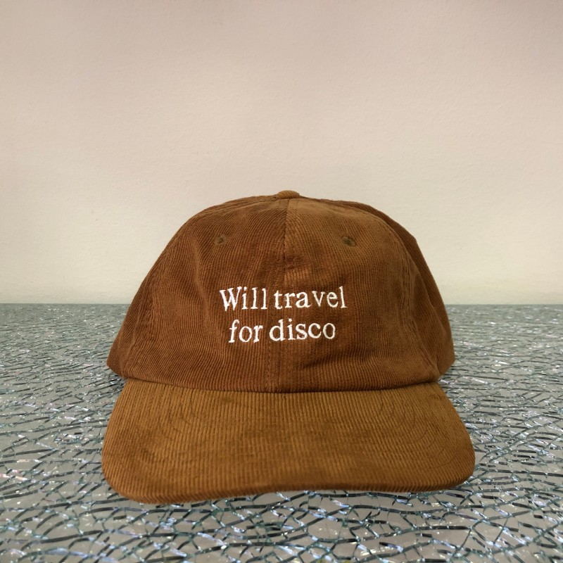 Hat, Will Travel For Disco (camel/white)