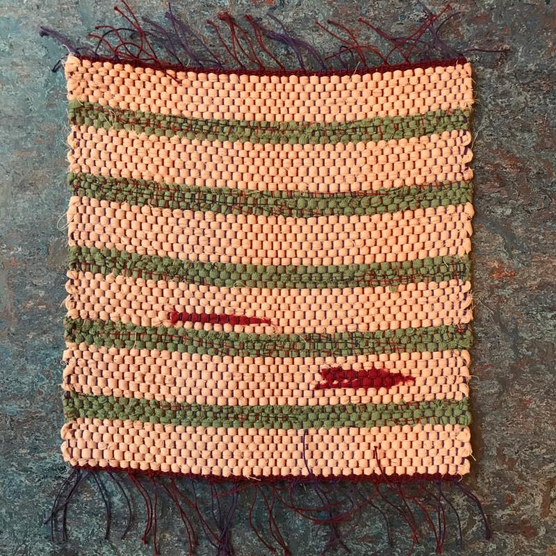 Unique woven piece
