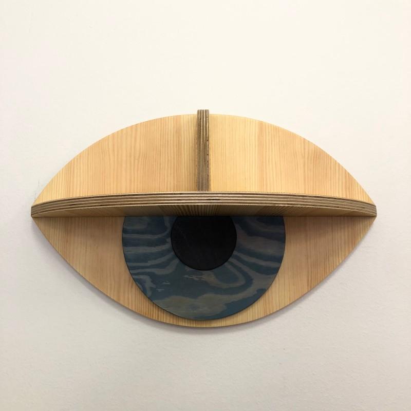 Eye Shelf, blue