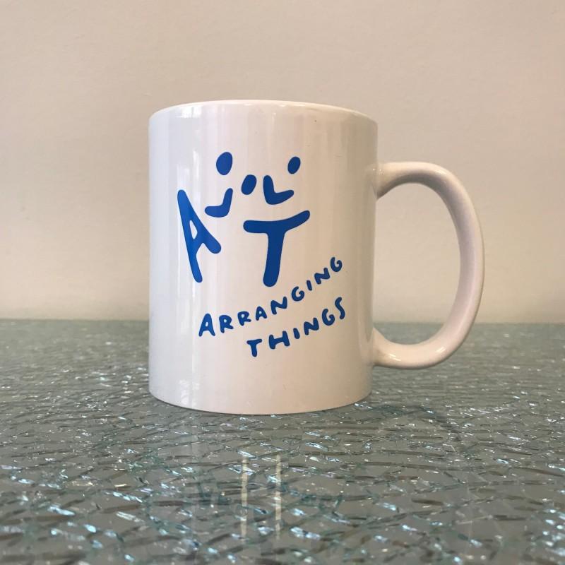 Arranging Things coffee mug