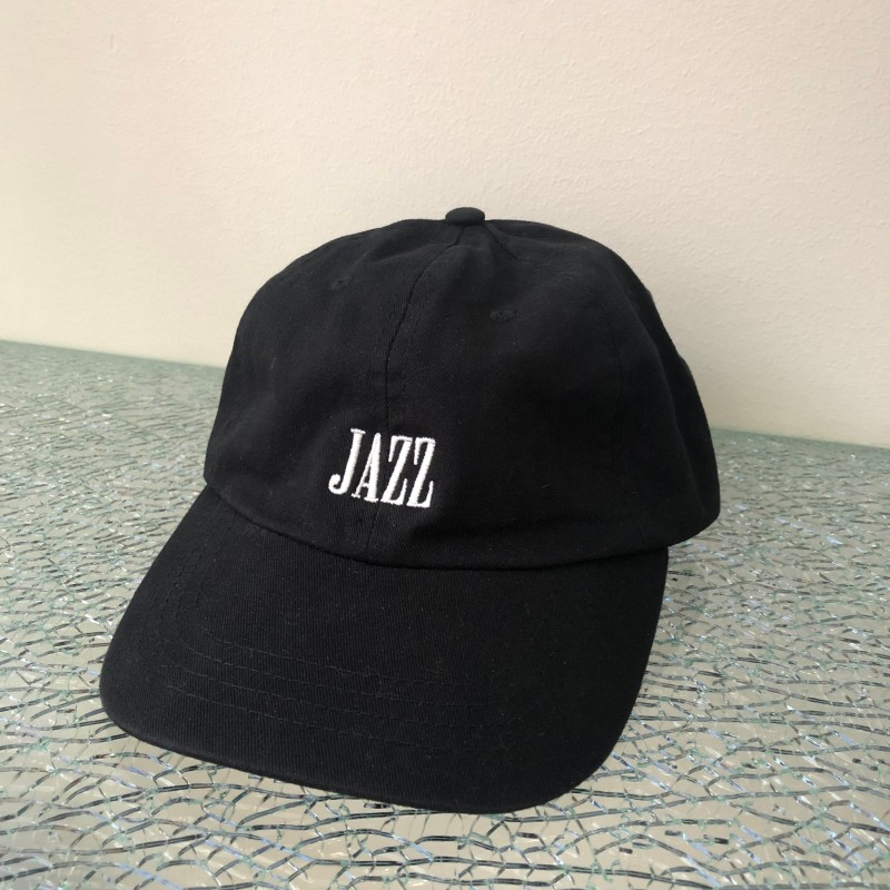 Hat, JAZZ, black/white