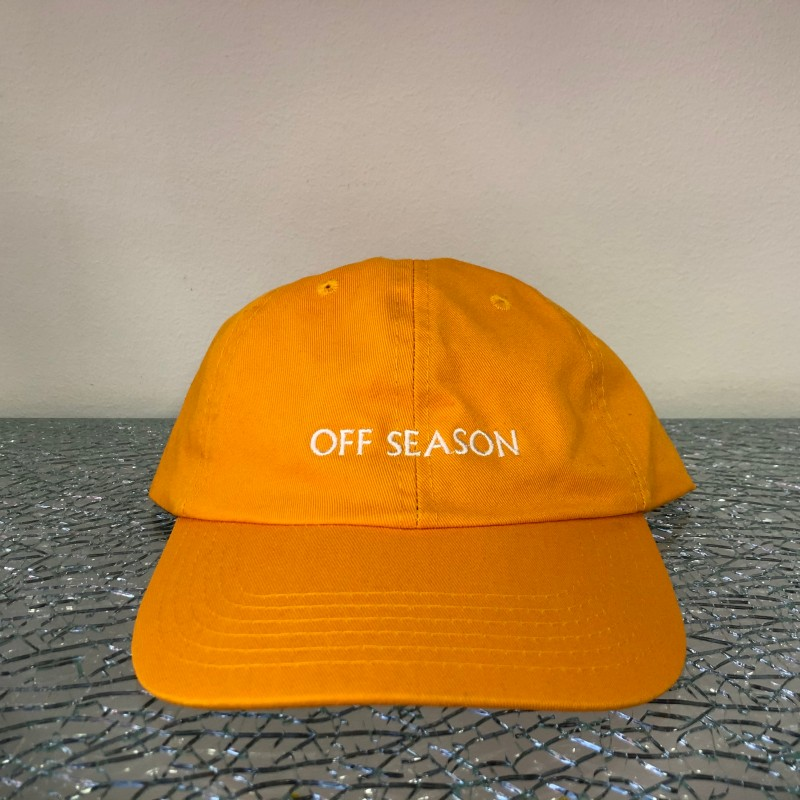 Hat, Off Season (orange/white)