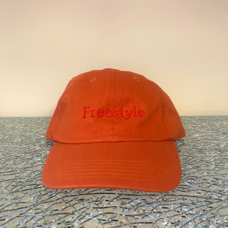 Hat, Freestyle (tomato red/red)