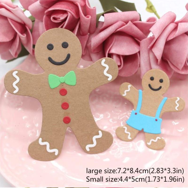 Nicole - Gingerbread Metal Cutting Dies (2 varianter)
