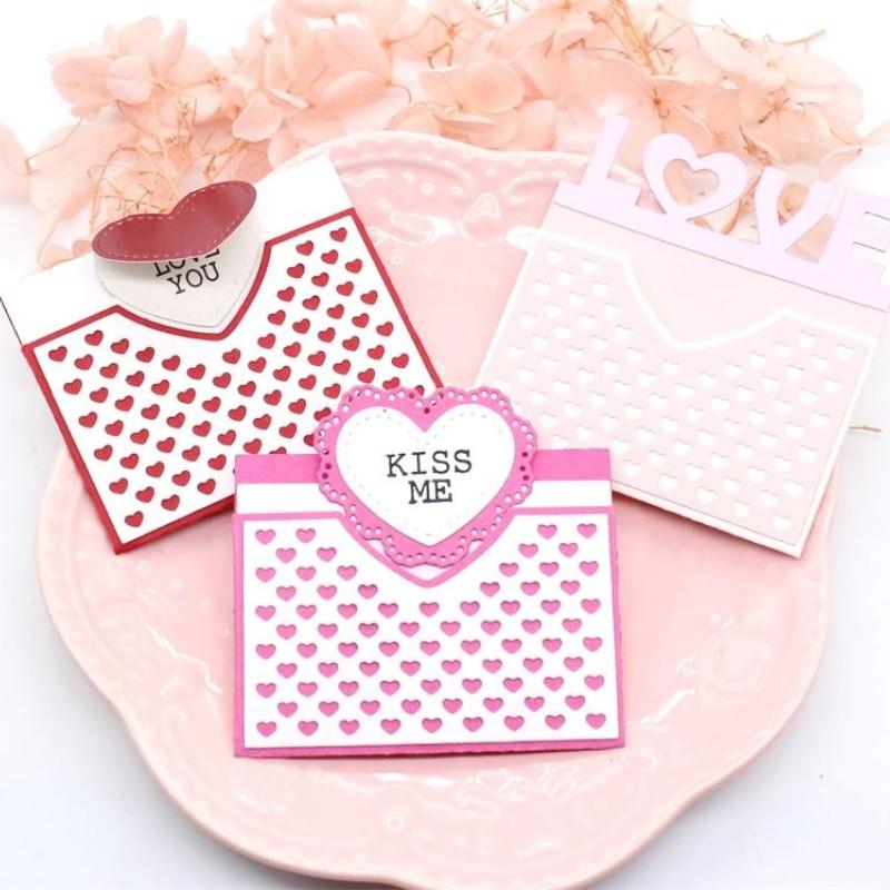 Nicole - Love Envelope Metal Cutting Dies