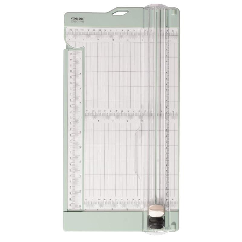 Vaessen Creative - Paper cutter with scoring tool 15x30.5cm mint