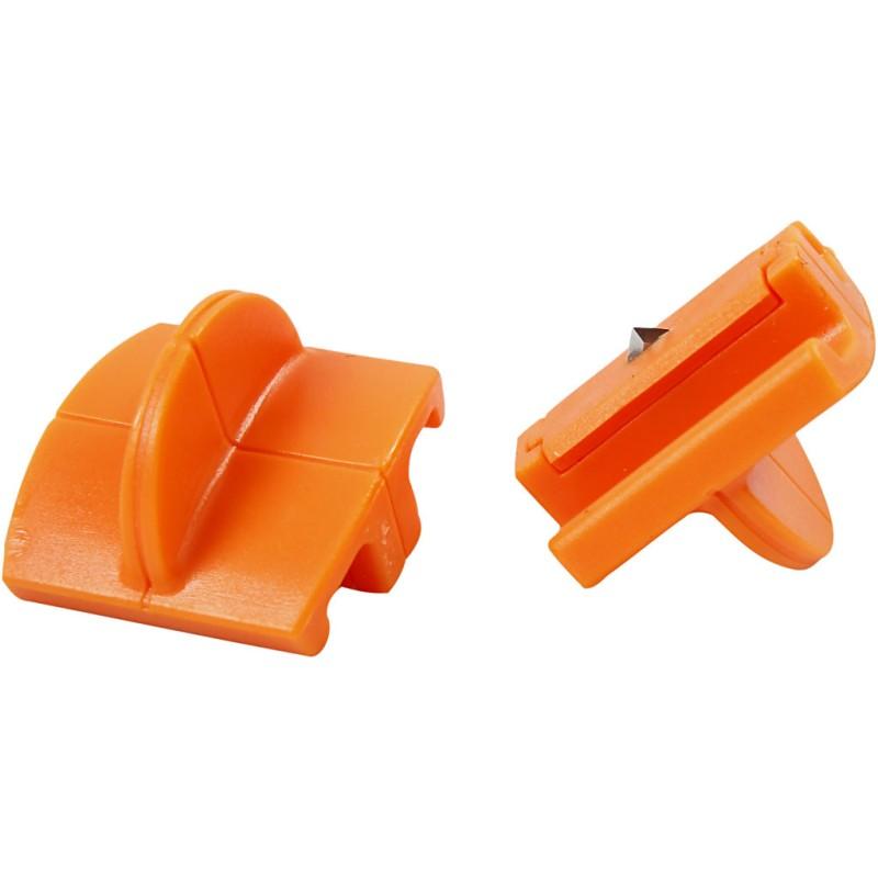Fiskars Refill Titanium blades for Personal Paper Trimmer - Straight Cutting (5740)