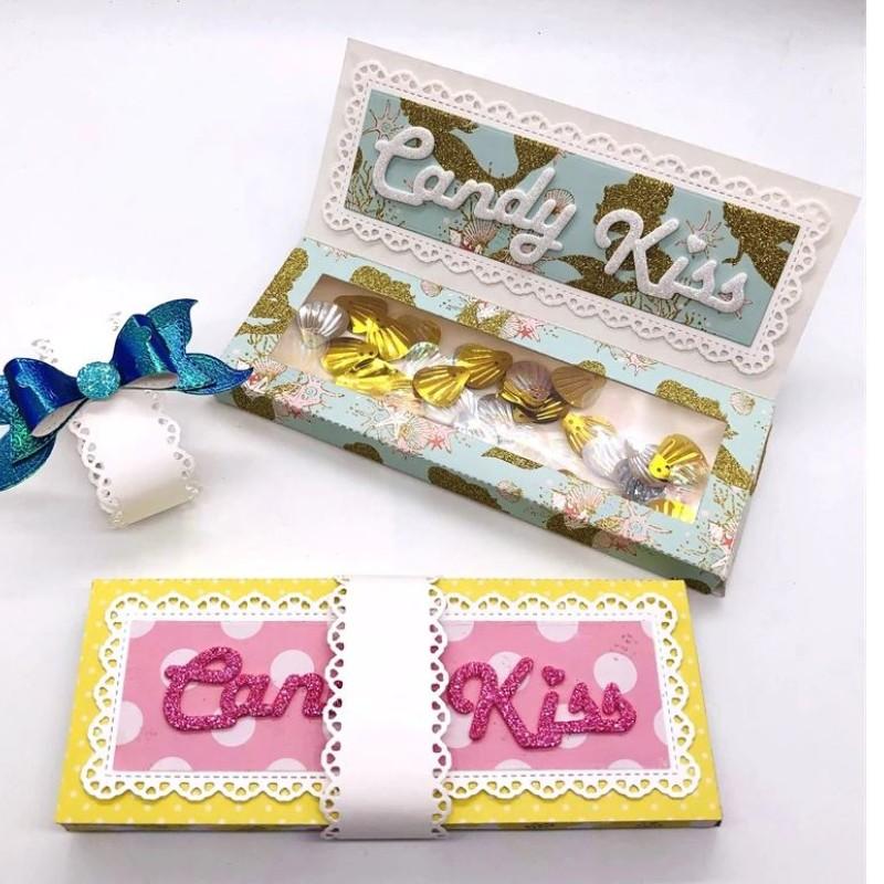 Nicole - Chocalate Bar Candy Box Metal Cutting Dies