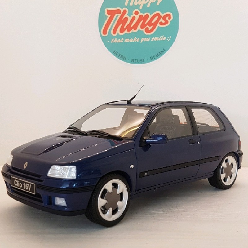 1:18 Renault Clio 1 16v phase II, Monaco blue, Ottomobile, limited, 1:18