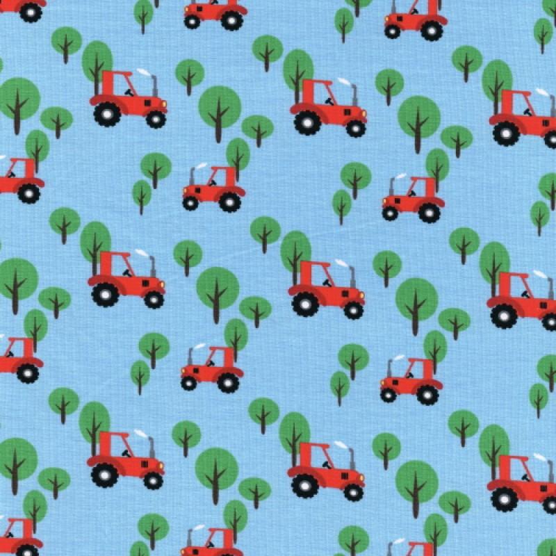 Barntyg traktor 95% bomull 5% elastan