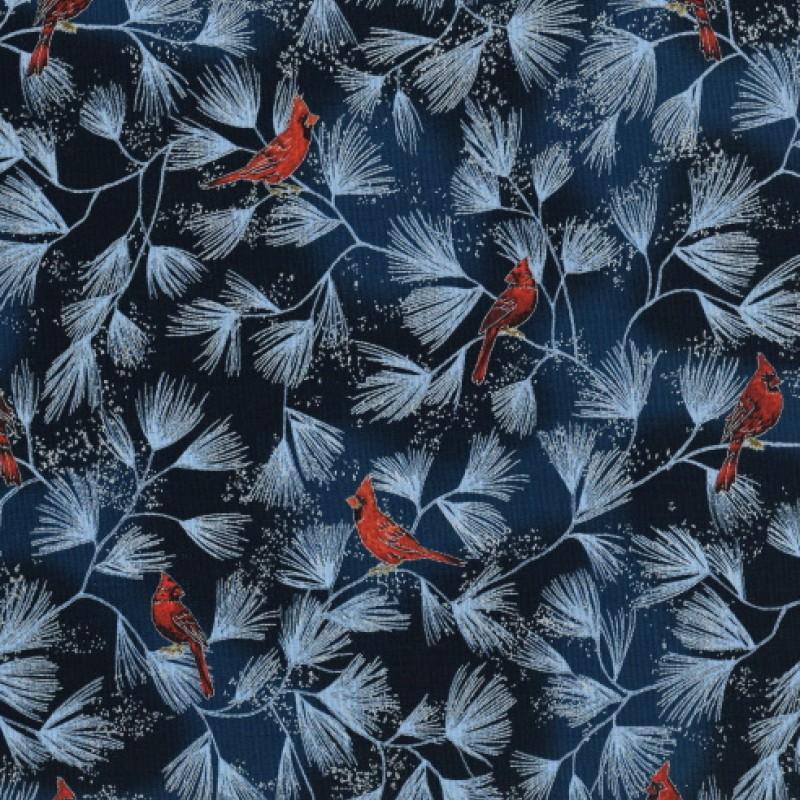 A Winter´s sky, röda fåglar