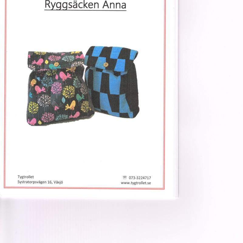 Ryggsäcken Anna