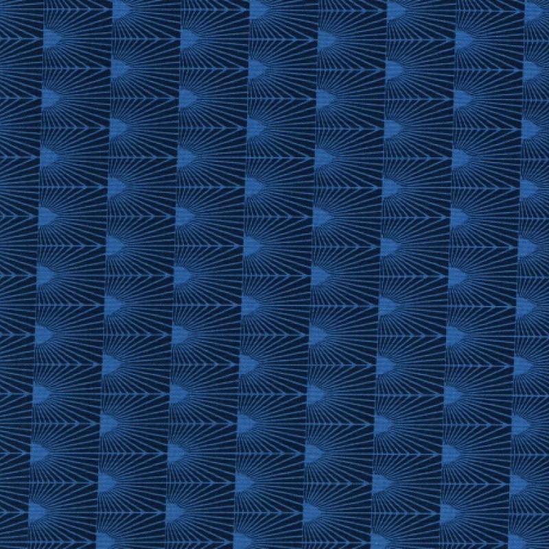 Cascade blå symetrisk