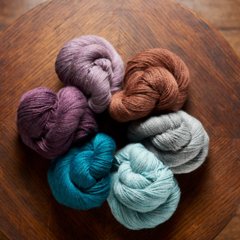 Knit by Numbers - Rødlige farver