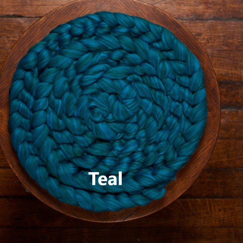 Knit by Numbers - Teal - 100g
