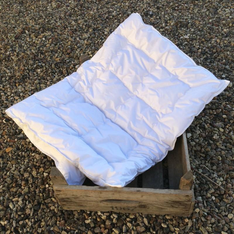 Ulddyne, baby 70 x 100 cm hvid