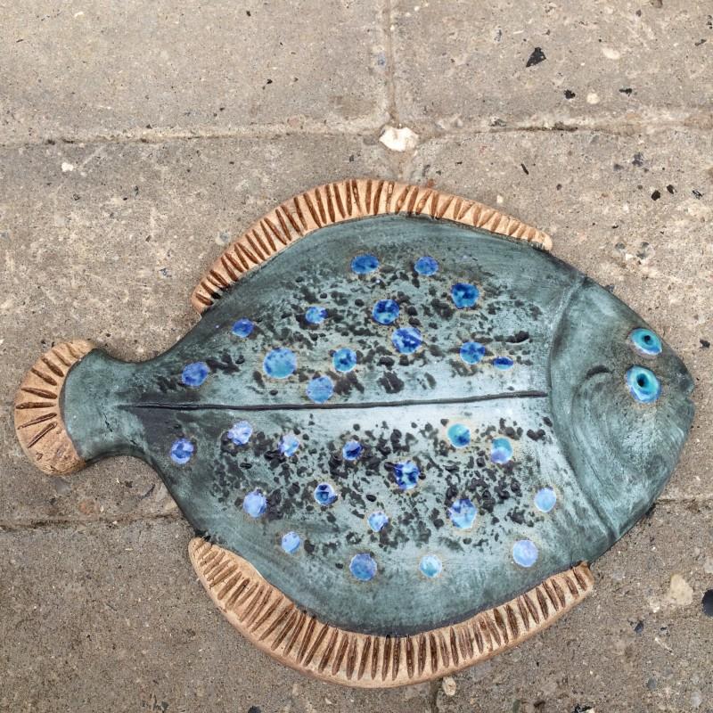 Fisk, blå rødspætte, 22 cm