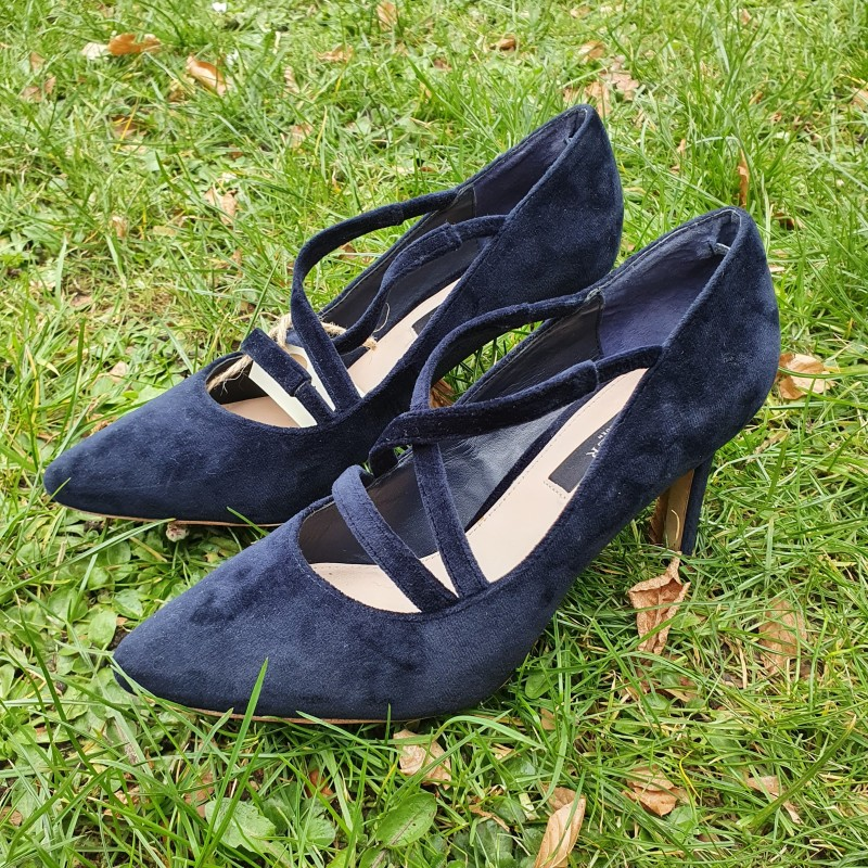 Tiger of Sweeden velour pumps str. 37