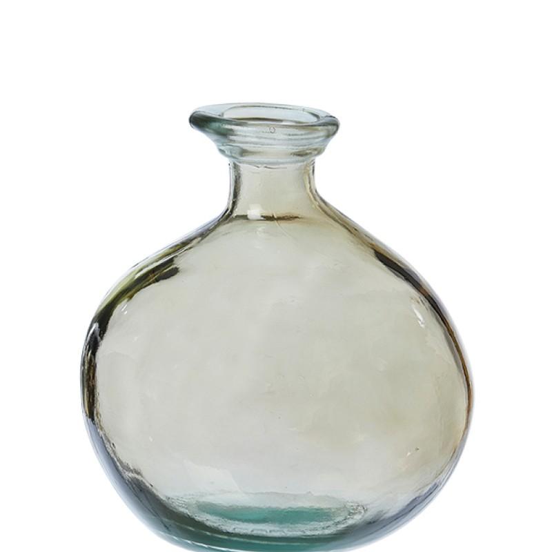 Barcelona flask vase, Champagne