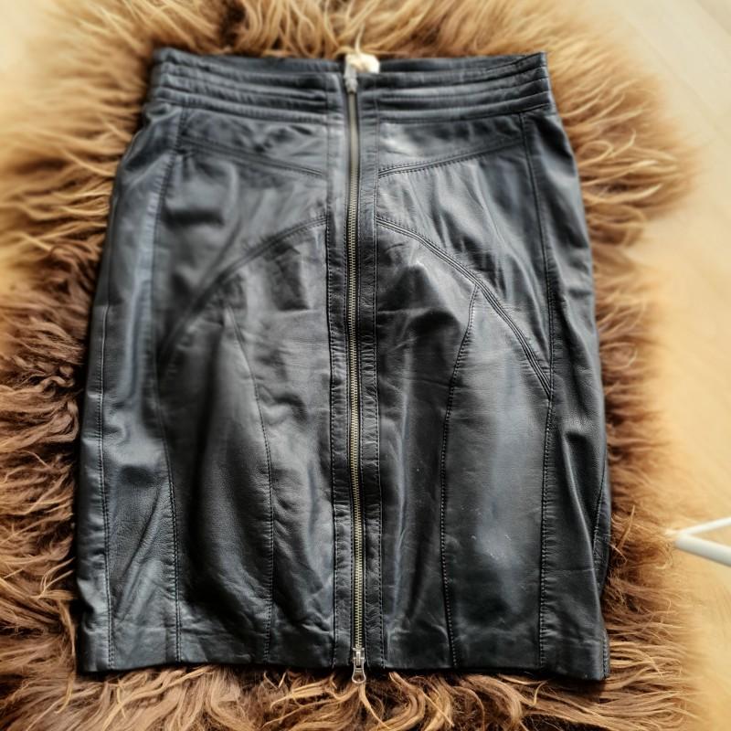 Inwear skind nederdel str. 42