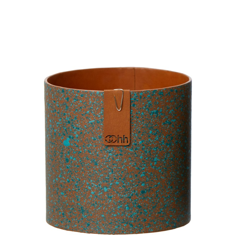 Oohh Collection Copper painted paper pot