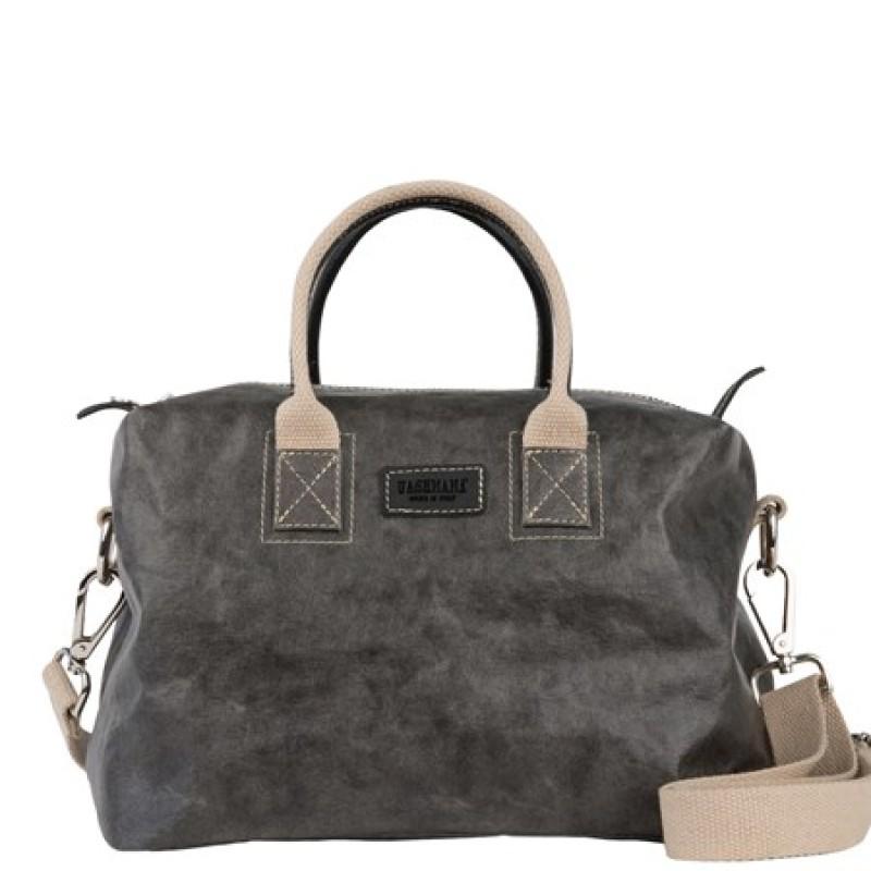 Roma Bag Small, Dark Grey