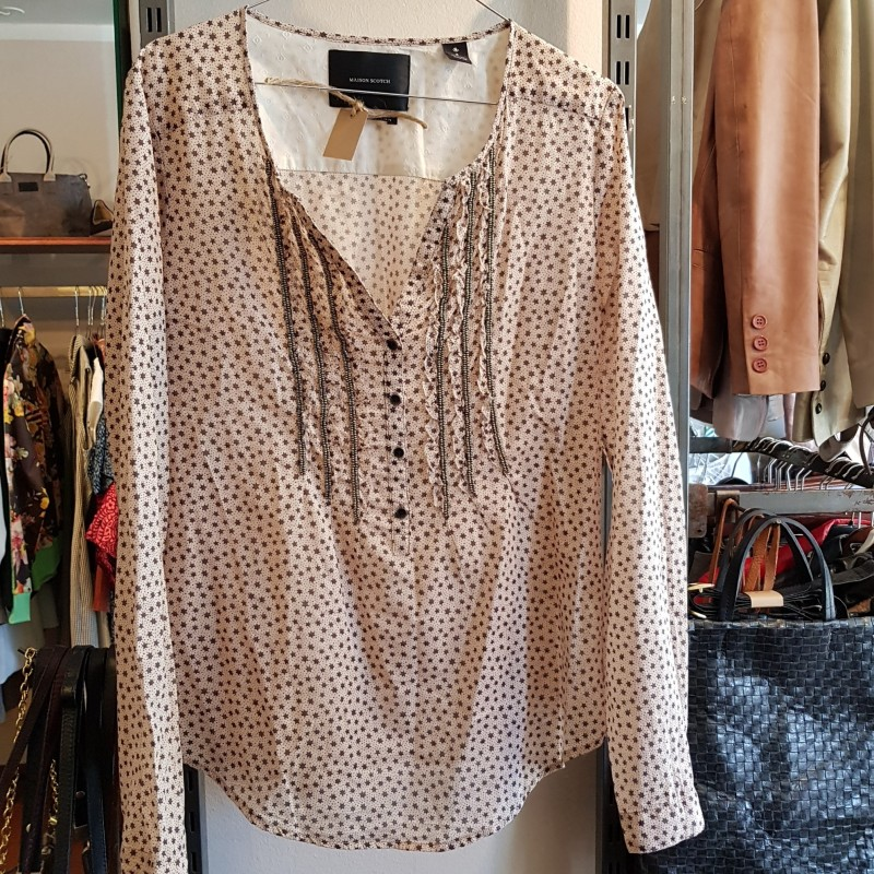 Maison Scotch bluse str. 2 (38)